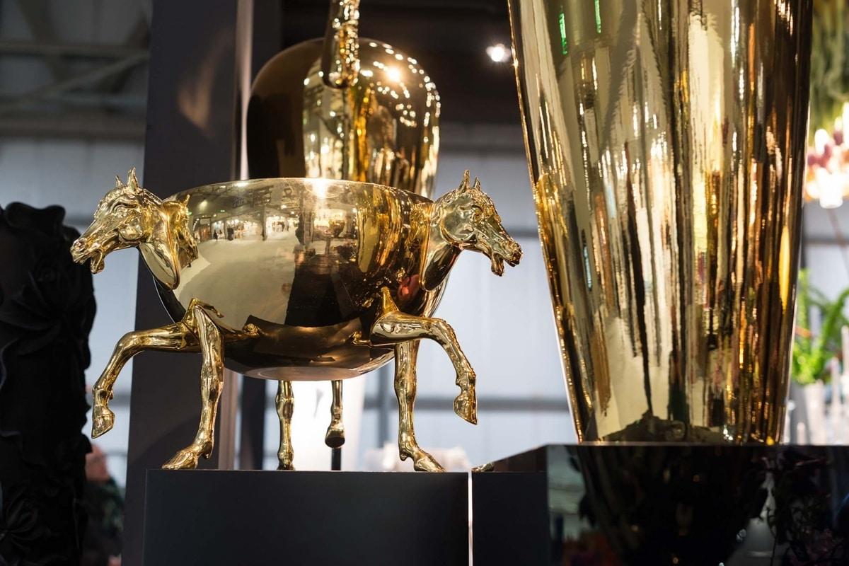 Horse 3 Vase, Vase made by Italian artisans