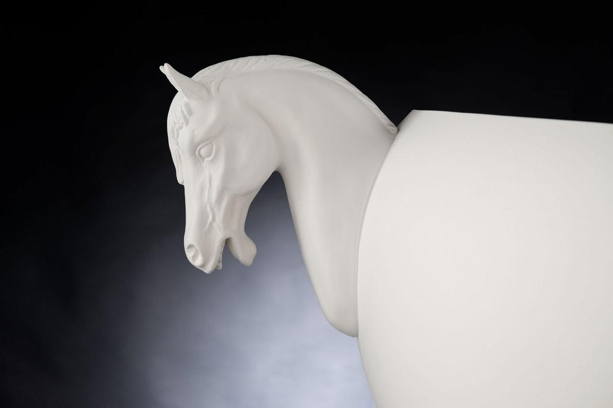 Horse Small Vase, Decorative ceramic vase