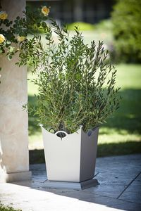 LAMIERE GF4016VA, Iron vase for garden