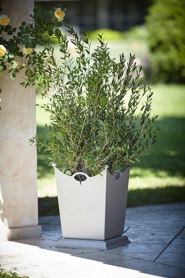 LAMIERE GF4016VA, Iron vase for garden