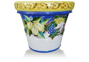 Lemon-Pot Frutta Rosy, Terracotta vase