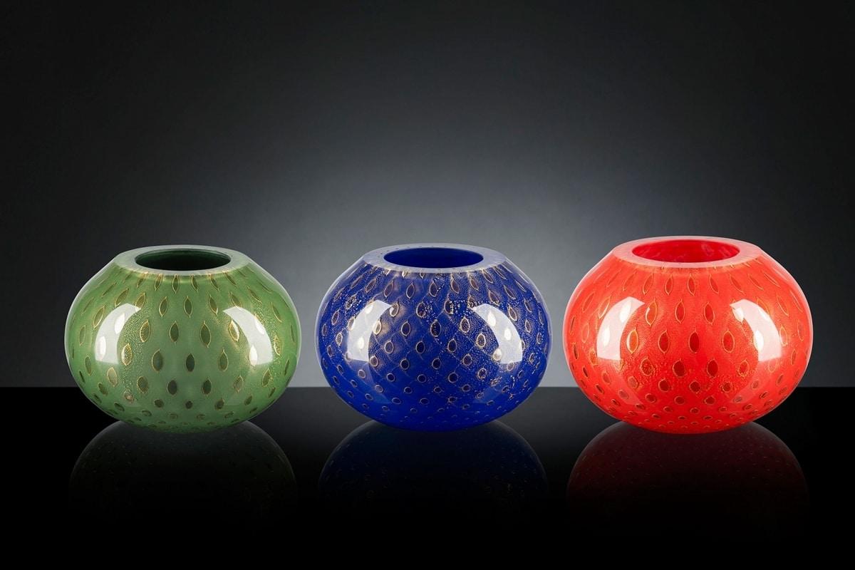 Mocenigo Vase Sphere, Murano glass vase