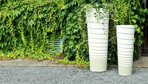 New Pot High, Garden pots with a truncated conical shape