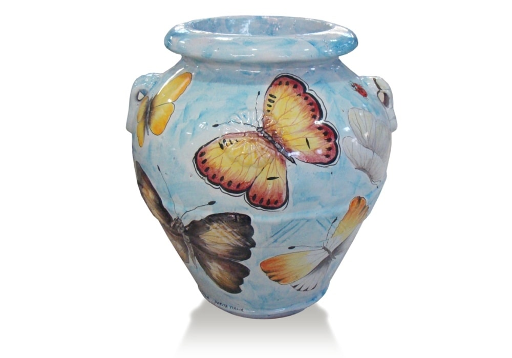 Orcio Butterfly, Classic terracotta jar