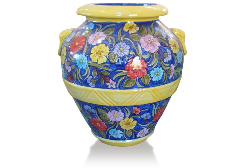 Orcio Prato, Jar with floral decorations