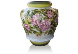 Orcio Rose, Hand decorated jar