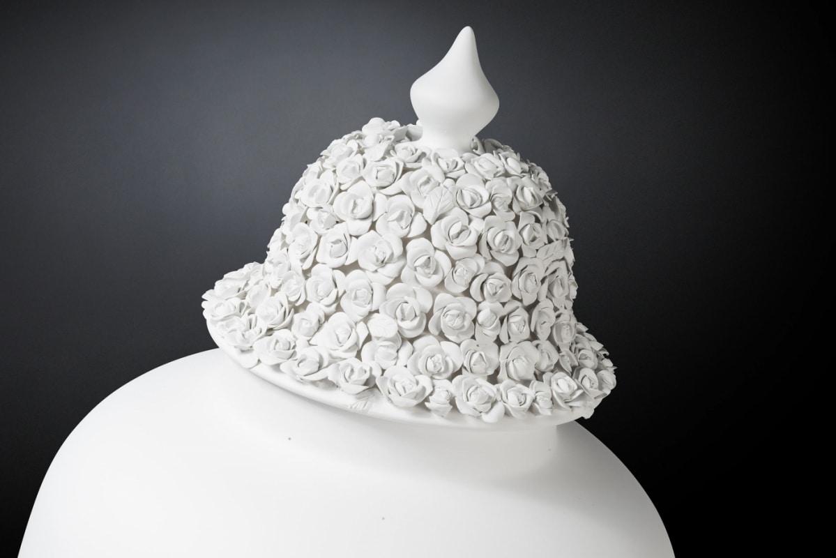 Potiche Borromeo, Large decorative ceramic vase