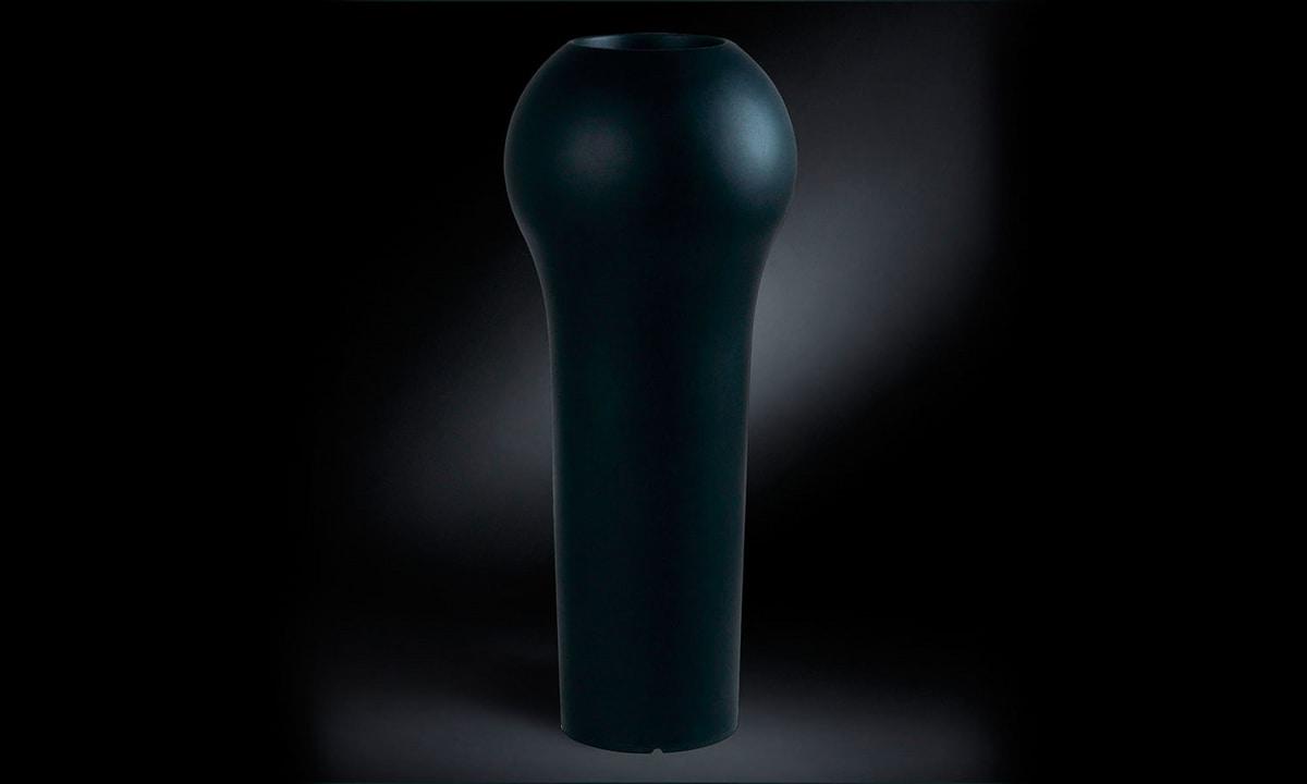 Sakata, Luminous vase in plastic material