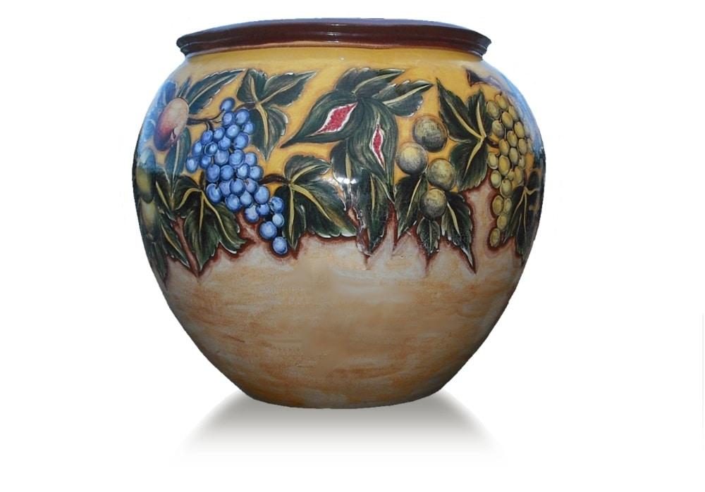 Sphere-Pot Caravaggio, Terracotta pot
