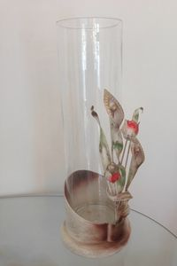 VA-01, Hand painted outlet vase