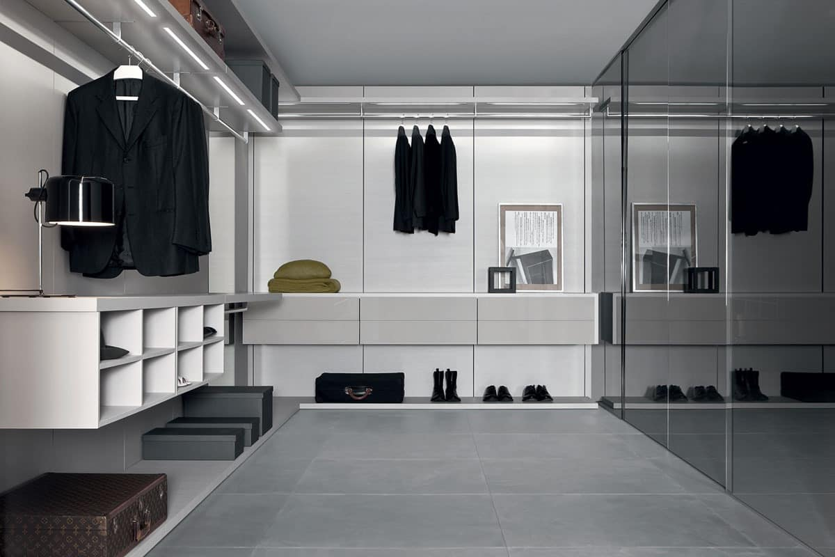 Anteprima Closet Modern Walk In Closets Wardrobe