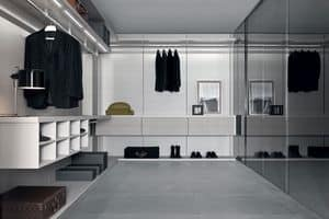 Anteprima closet, Modern walk-in closets, wardrobe