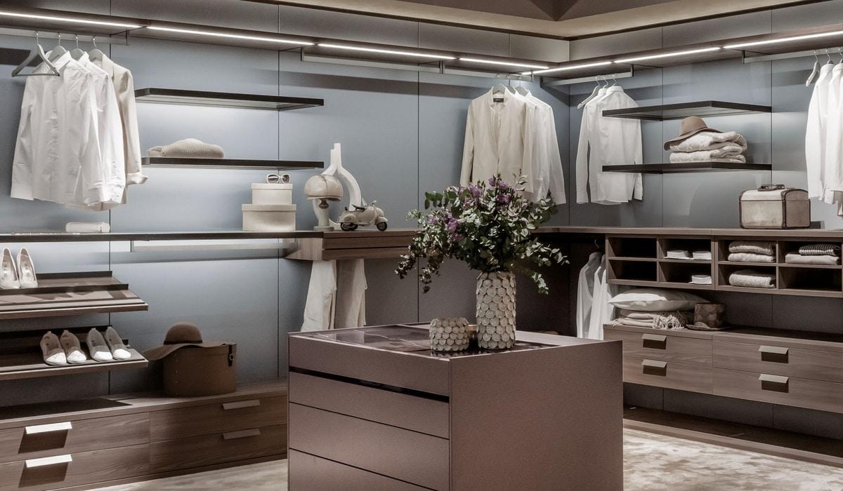 DEUS, Modular walk-in wardrobe