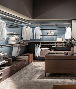 DEUS, Modular walk-in wardrobe