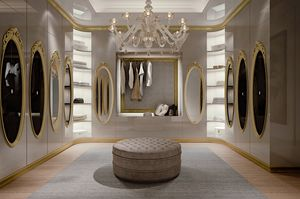 Hotel de Ville Walk-in closet, Custom-made luxury walk-in closet
