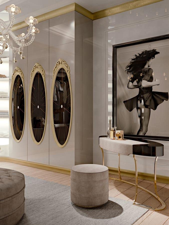 Hotel de Ville Walk-in closet, Custom-made luxury walk-in closet