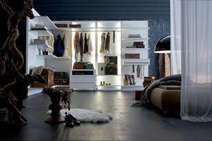 OASI, Modular and customizable walk-in closet