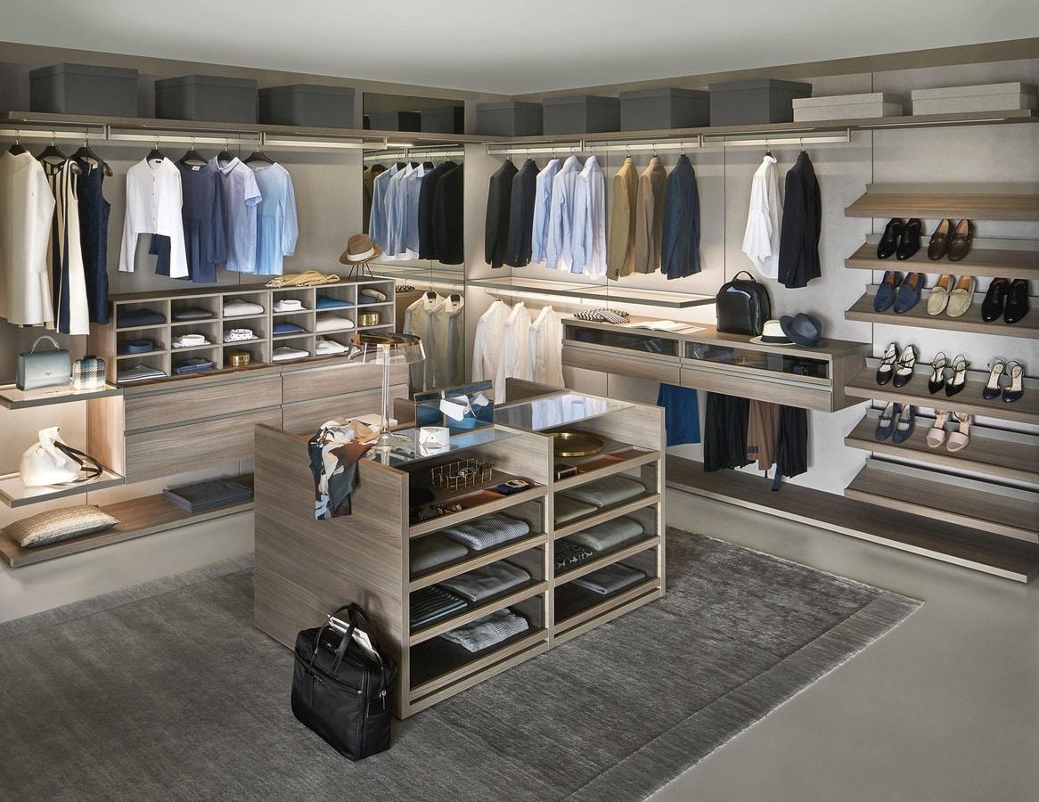 Panorama, Elegant modular walk-in closet