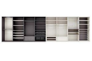 SPAZIOLAB, Modular walk-in closet, customizable to measure