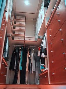 Walk in closet 04, Fitted wardrobe, made to measure