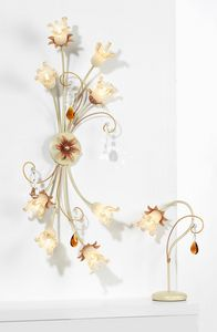 10208, Ceiling lamp with Murano glass