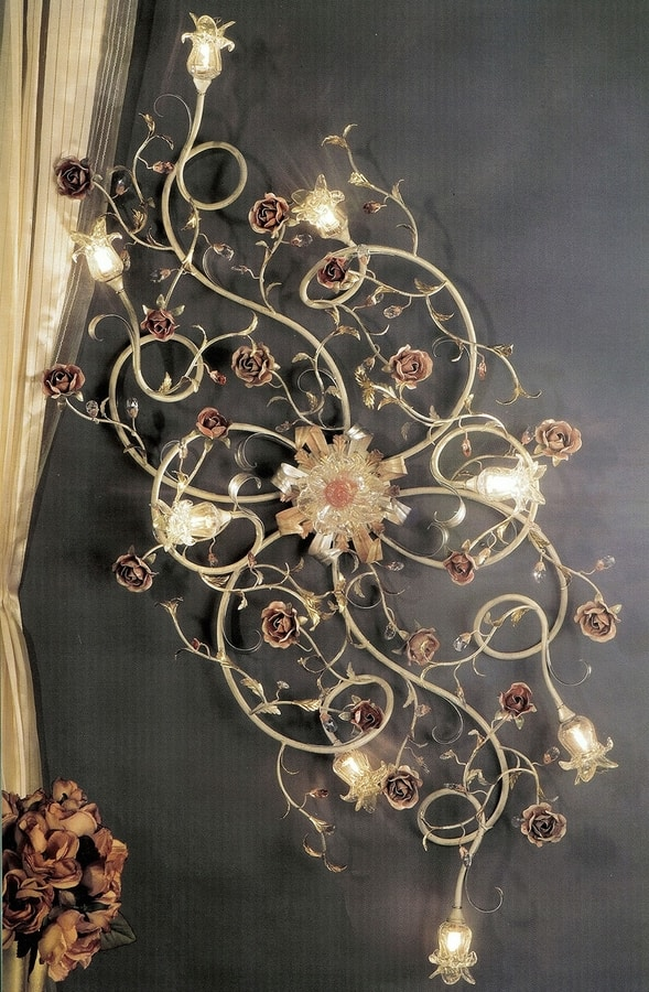 95608, Ceiling lamp with a classic design