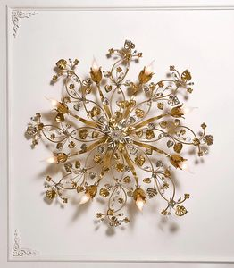 97708, Golden ceiling light
