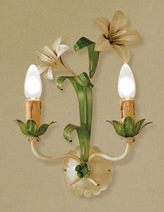 A.3545/2, Wall lamp in glass, Florentine style