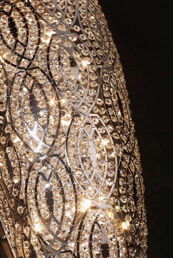 Arabesque Drop Medium, Elegant wall lamp