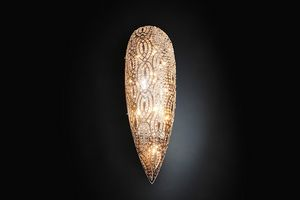 Arabesque Drop Medium, Elegant wall lamp
