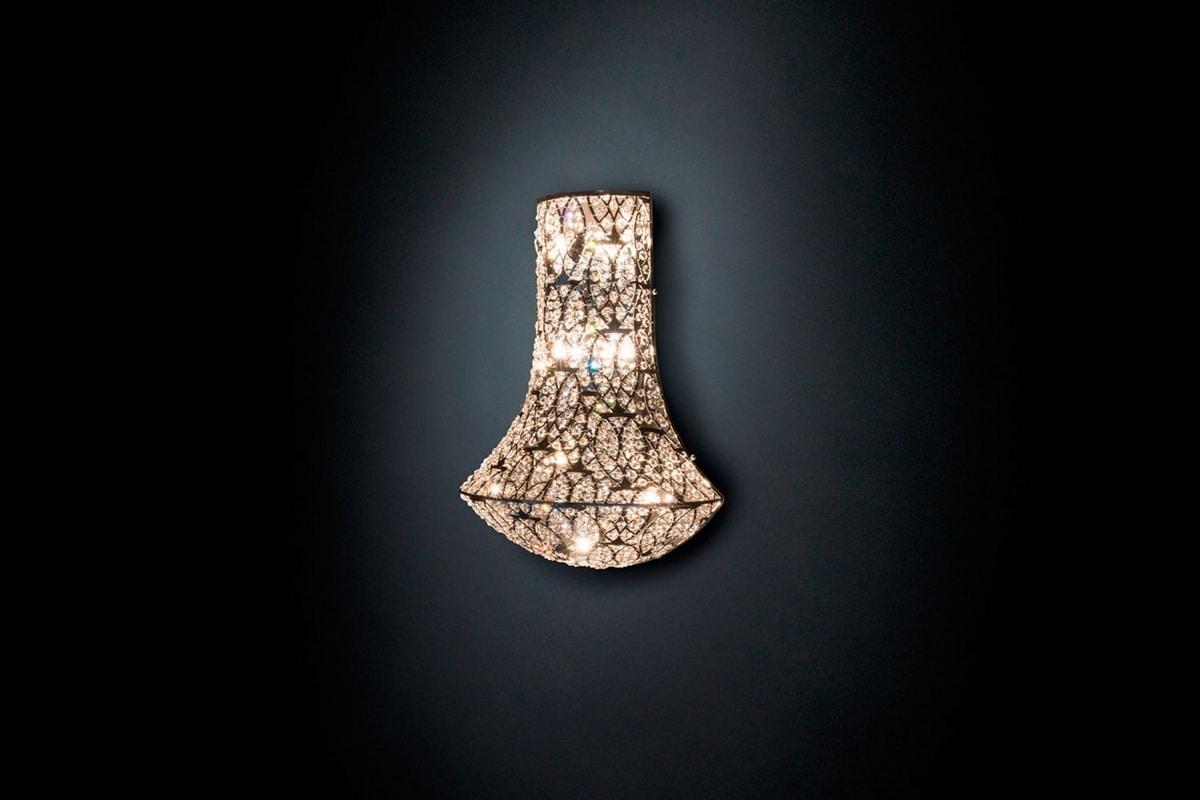 Arabesque Exclamation, Applique with crystals