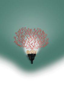 Art. 2000-01-00, Coral shaped wall lamp