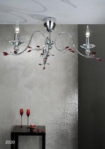Art. 2020 Soiree, Ceiling lamp with Swarovski