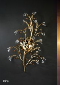 Art. 2035 Matisse, Applique in golden brass