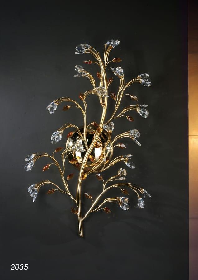 Art. 2035 Matisse, Applique in golden brass