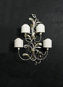 Art. 2037-04-00, Iron and brass wall lamp