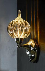 Art. 2100-01-00, Applique with pumpkin-shaped diffuser