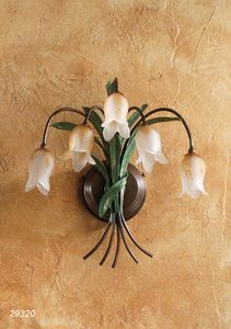 Art. 29320 Butterfly, Wall lamp with five lights