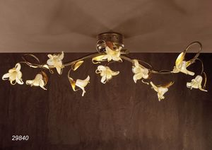 Art. 29840 Jolie, Ceiling lamp with floral design
