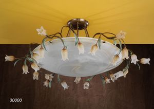 Art. 30000 Butterfly, Handcrafted ceiling lamp