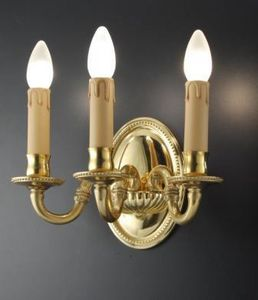 Art. 530/A3, Classic applique with candle-shaped lights