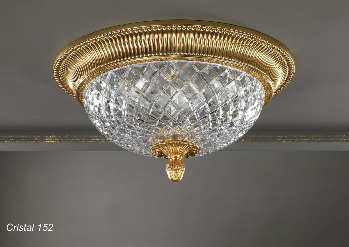 Art. CRISTAL 152, Elegant ceiling light with a classic design
