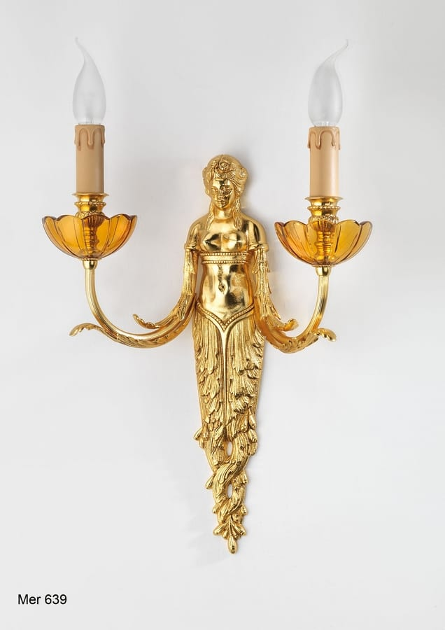 Art. MER 639, Decorative wall lamp