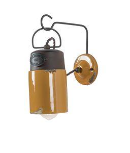Art. SL 149, Applique lamp, mining style