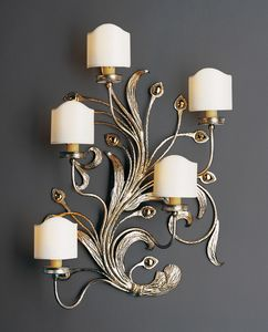 BILLI HL1067WA-5, Wall lamp with finishes in gold and silver