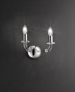 CALLE L 30, Wall light, double candle shape