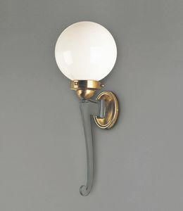 CARPI GL3036WA-1, Wall lamp with sphere diffuser