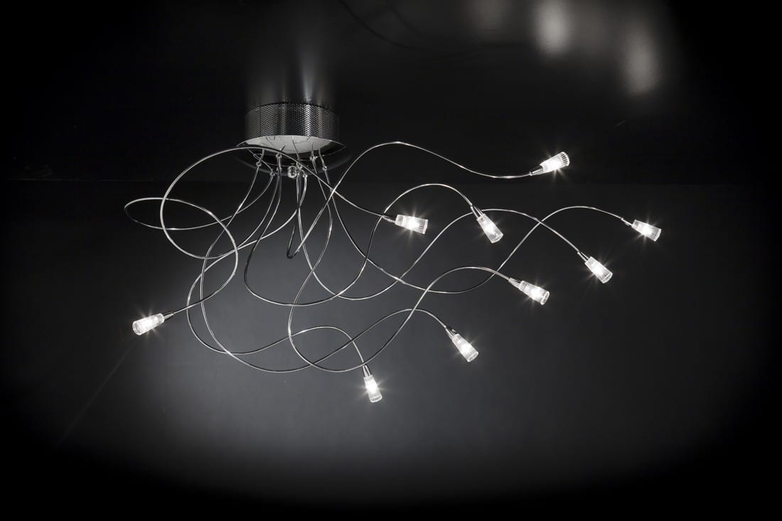 FLEX H max 90, Ceiling lamp with modeling arms