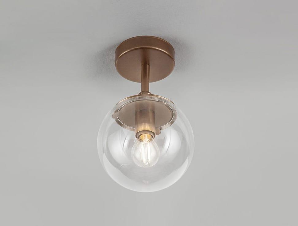 GLOBAL Ø 20/ Ø 15, Ceiling lamp with acrylic sphere