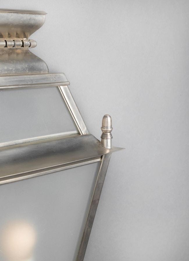 JOLIE GL3026WA-1, Outdoor wall lamp in brass